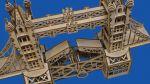 фото Механический конструктор из дерева Mr.Playwood 'Тауэрский мост' (10002) #7