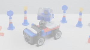 фото Конструктор Pai Bloks с Пультом ДУ 'Racecar' (62007W) #6