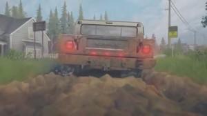 скриншот Spintires: MudRunner American Wilds Edition Nintendo Switch - русская версия #8