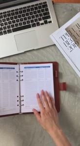 фото Бизнес-ежедневник AB diary, красный #12
