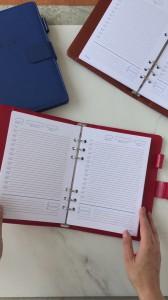фото Бизнес-ежедневник AB diary, красный #13
