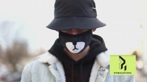 фото Маска на лицо Пушка Огонь 'BTS', черная #6