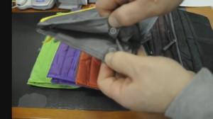 фото Большой органайзер для вещей Bag in Bag maxi, бордовый (100577) #6
