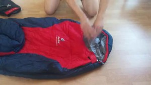 фото Спальный мешок Deuter Dream Lite 400 R sun orange-midnight #3