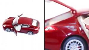 фото Машинка на радиоуправлении Meizhi. Porsche Panamera металлическая (черный) #6